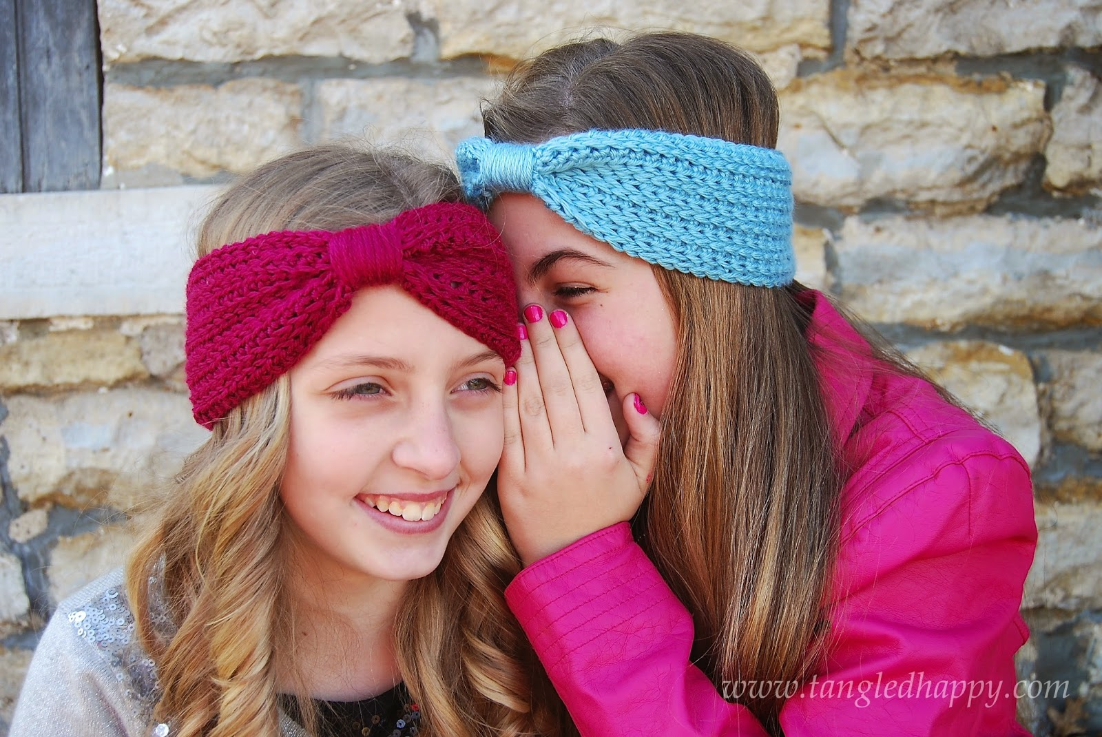 Double Knitting Headband Pattern : tangled happy: Wrapped Headband {Free Crochet Pattern}