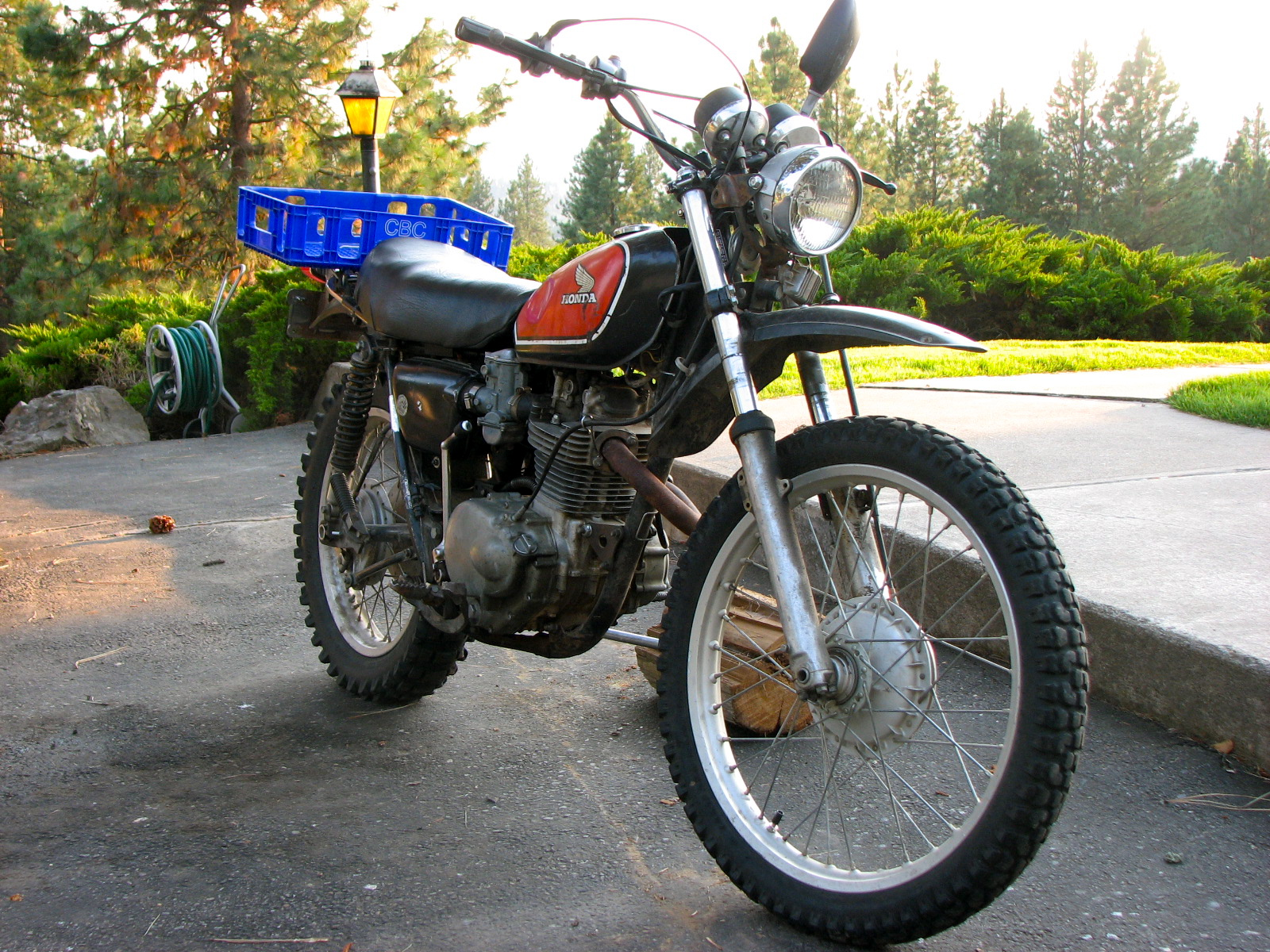 1975 honda xl250 975 located in coeur d 39 alene idaho for Honda coeur d alene