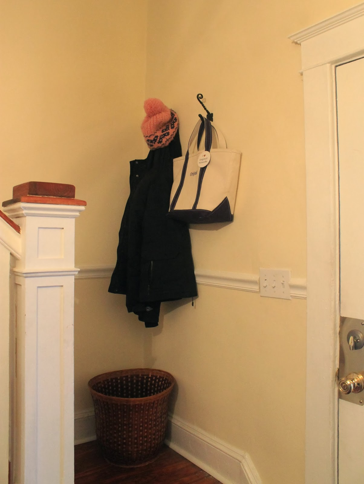 Around The House: Dealing With No Coat Closet
