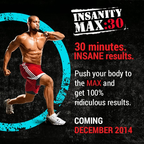 Insanity Max: 30, Insanity, Shaun T, Beachbody,