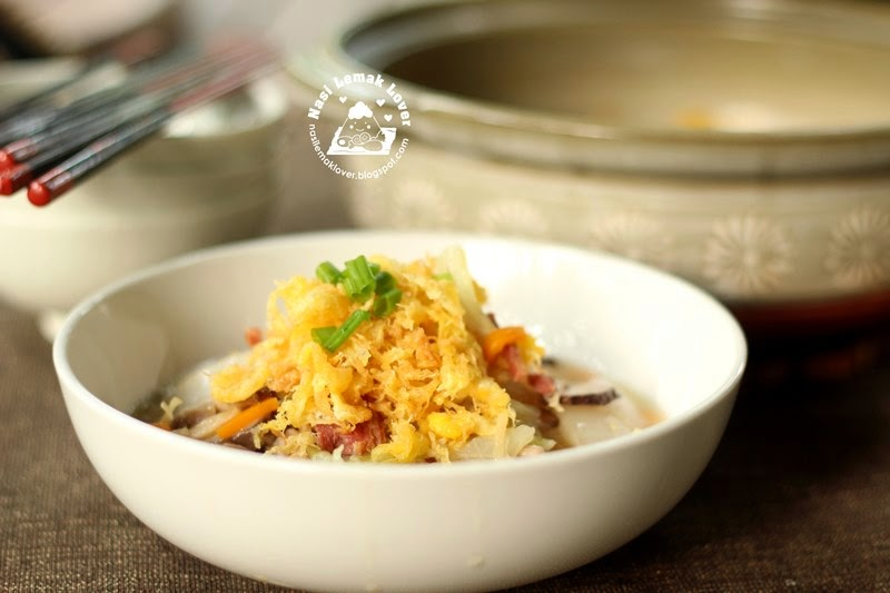 braised napa cabbage and egg floss 蛋酥滷白菜 480g napa cabbage ...