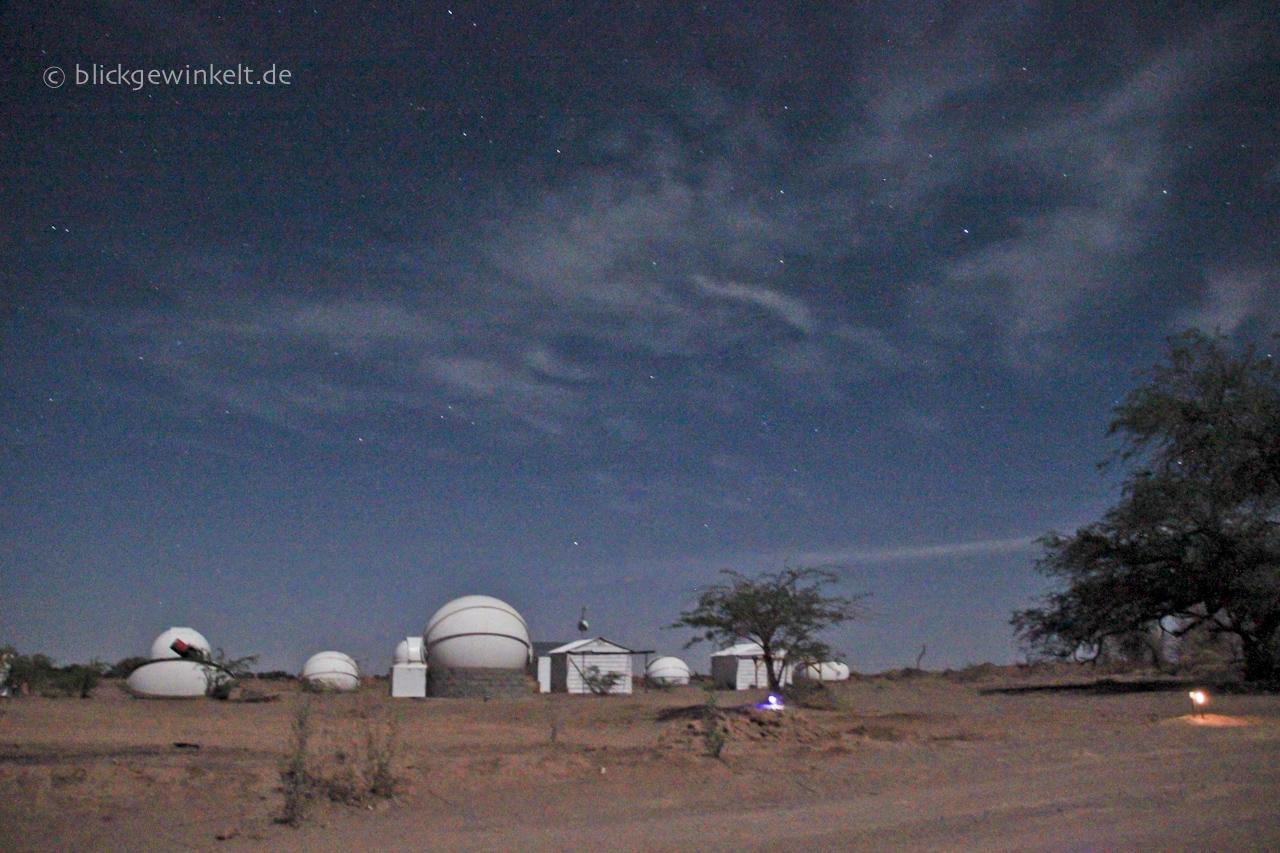 Sternwarte in der Atacama