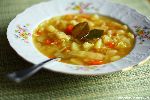 White Cabbage Soup Recipe