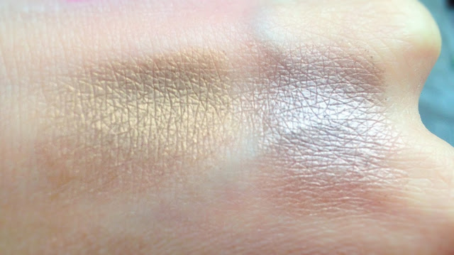 MAC Patina and Satin Taupe Swatches
