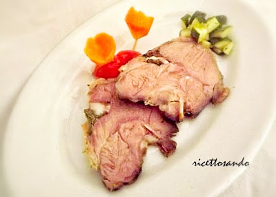 Tacchino al forno ricetta secondi di carne