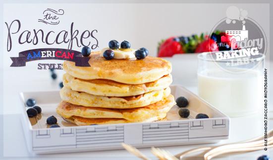 pancakes americani • classic american pancakes