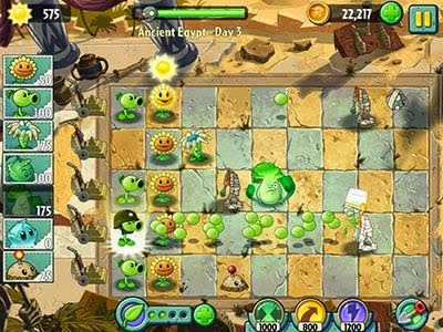 Download Game Android Plants VS Zombies 2