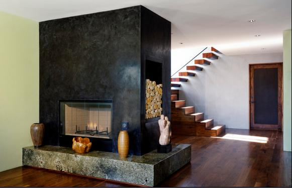 Fotos de chimeneas venta de estufas a le a - Imagenes de chimeneas de lena ...