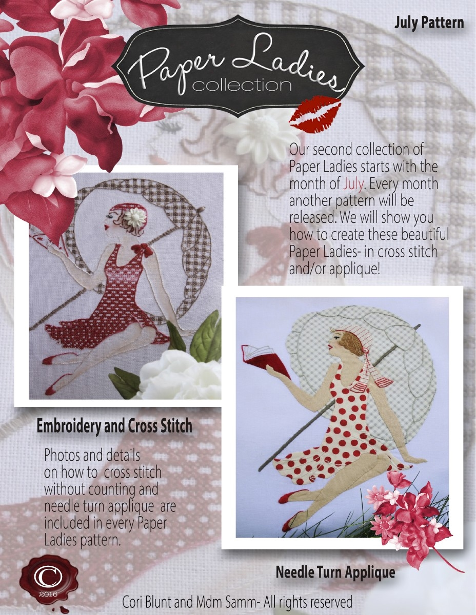 Paper Ladies July 2016