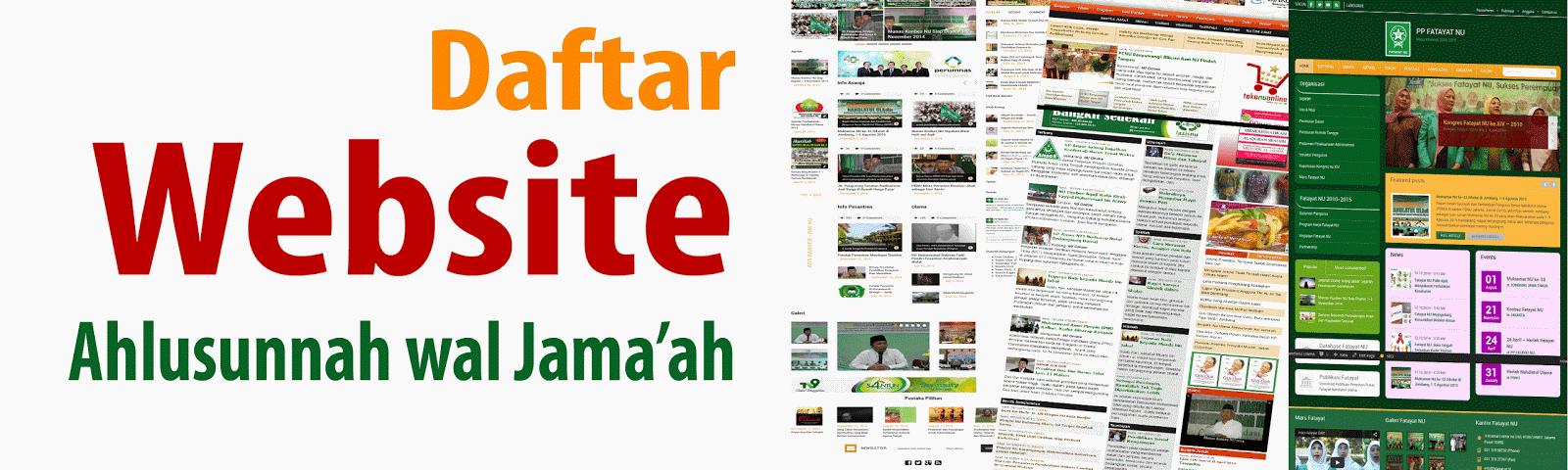 daftar web islam aswaja