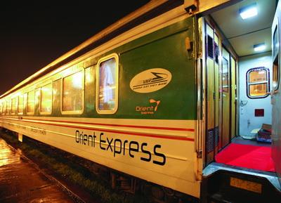 Toa Green  train orient express
