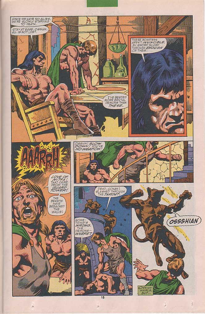 Conan the Barbarian (1970) Issue #251 #263 - English 12