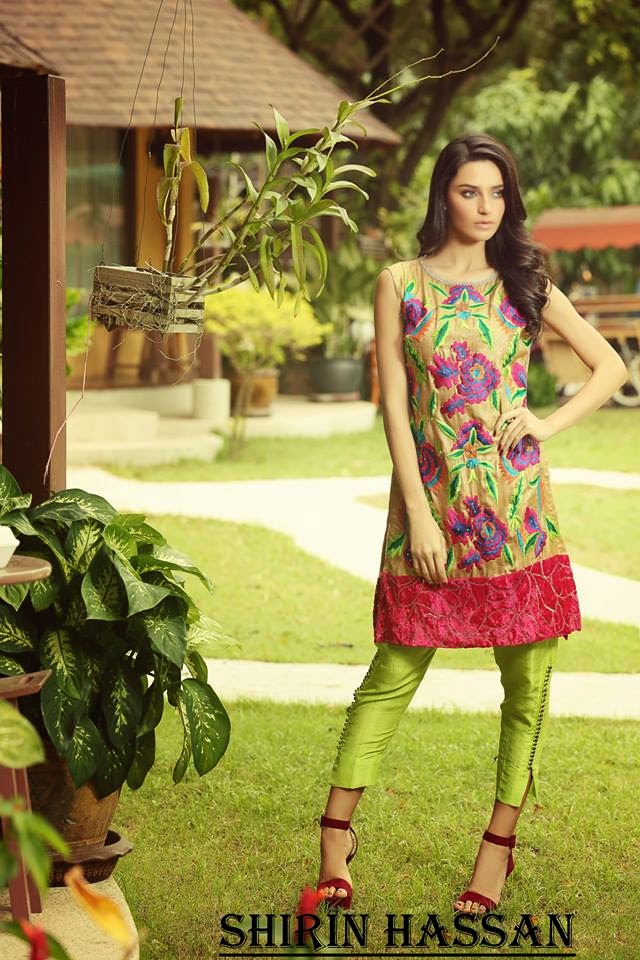 Latest Winter Fall Formal Dresses 2015 by Shirin Hassan