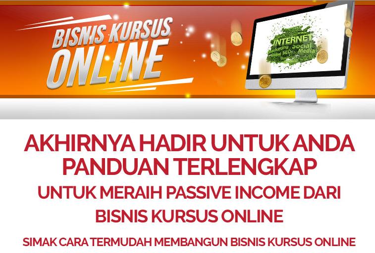 Passive income dari kursus bisnis online