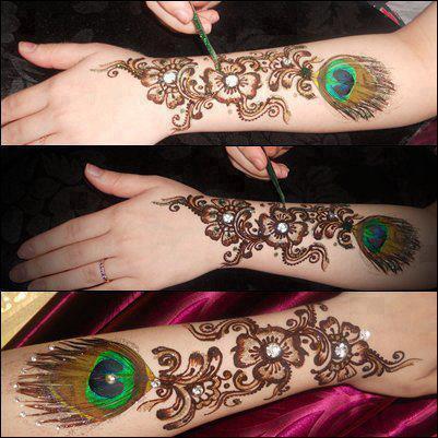 eid styles of mahndi