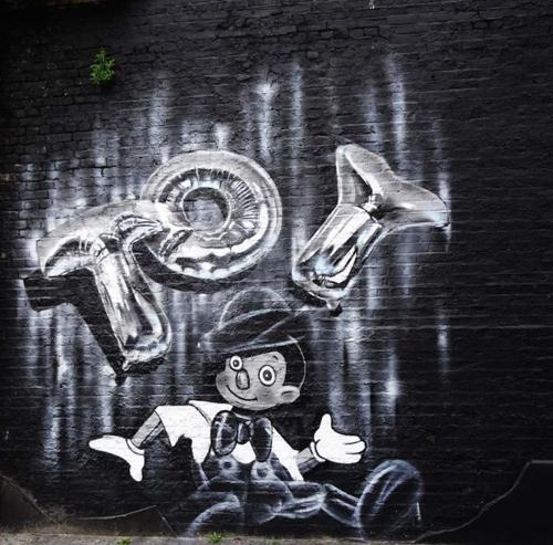Balloon Character Murals