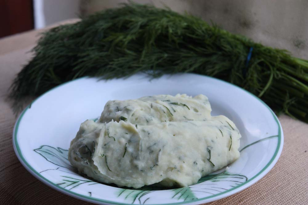 how to make horseradish mashed potatoes