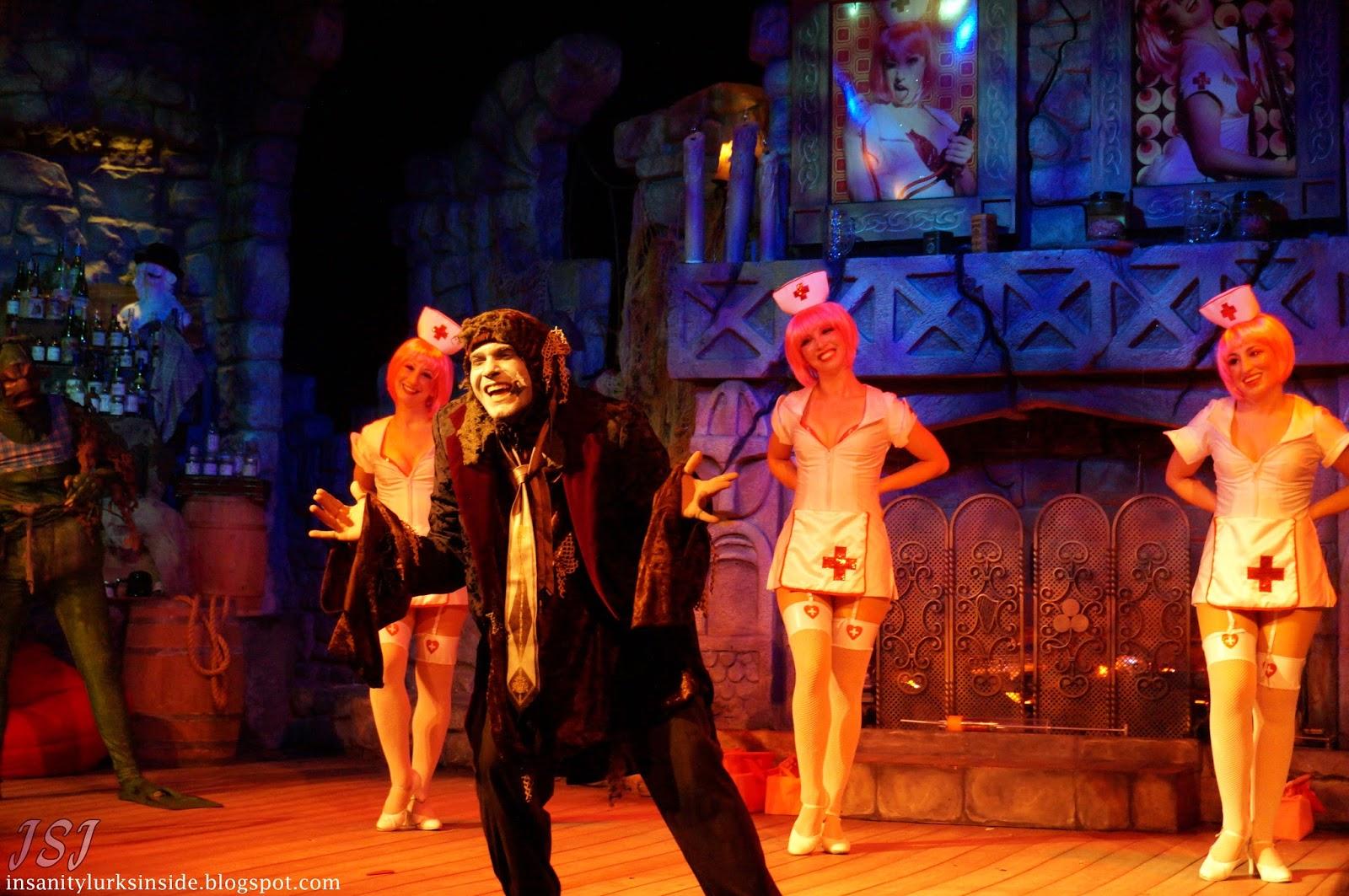Insanity Lurks Inside Haunt Review Howl O Scream At Busch Gardens Williamsburg