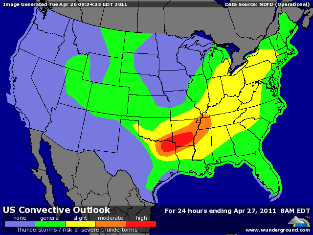 Violent weather forecast for the South today  Phillips Natural