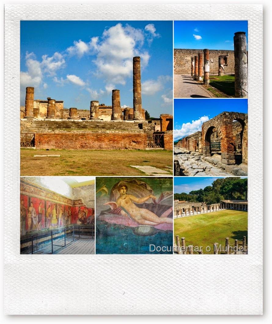 Dicas Para Visitar Pompeia, Sul de Itália