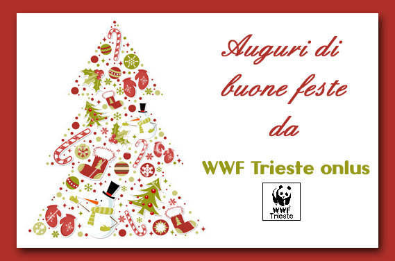 Auguri di buone feste da WWF Trieste