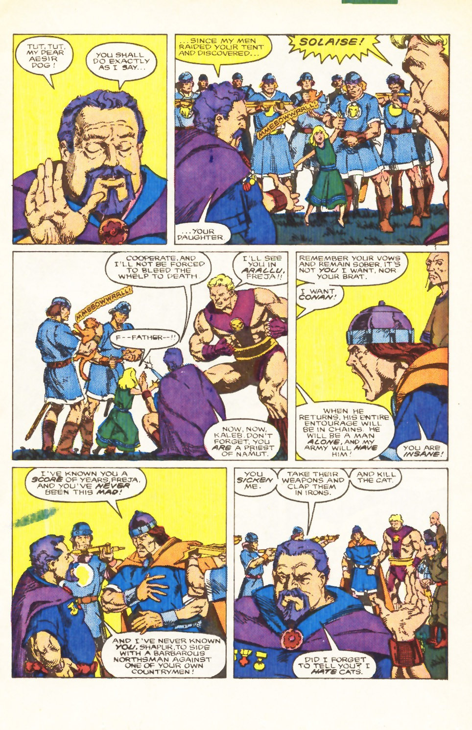 Conan the Barbarian (1970) Issue #198 #210 - English 12