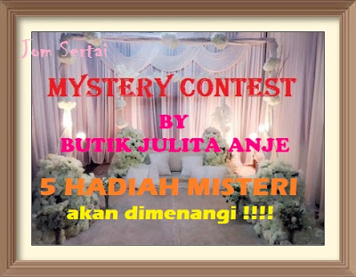 Mystery Contest by Butik Julita Anje