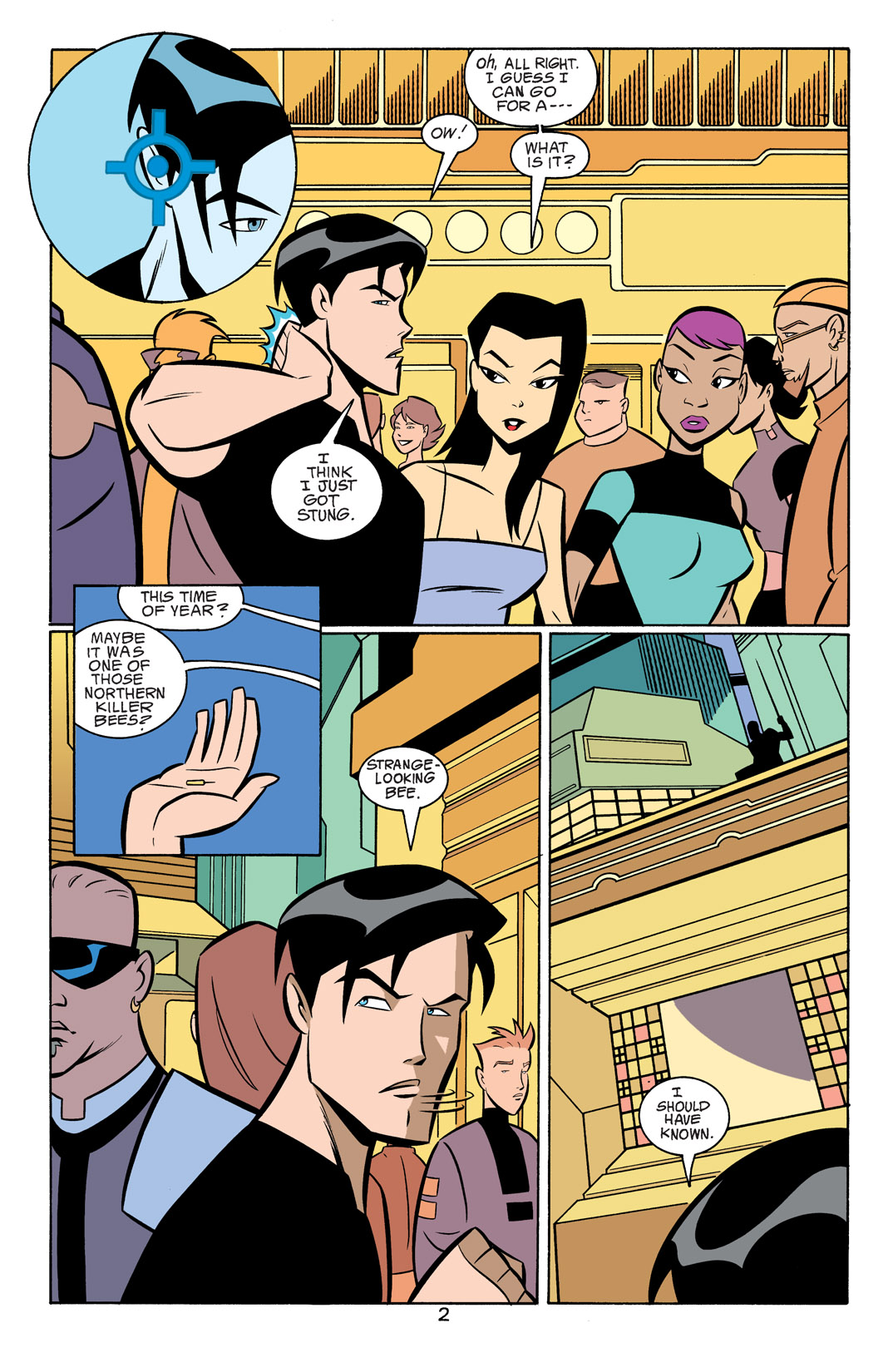Batman Beyond [II] Issue #18 #18 - English 3