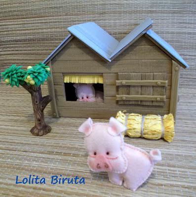 Porquinhos na fazendinha