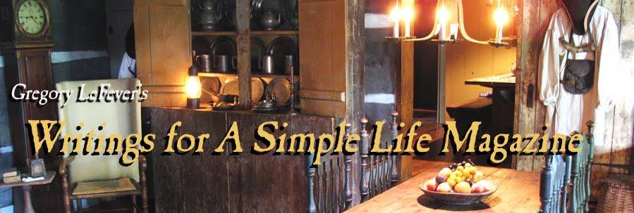 Simple Life Writings