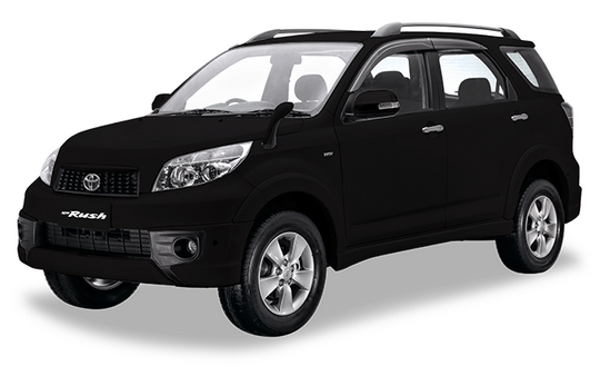 Toyota New Rush Black Mica Metallic