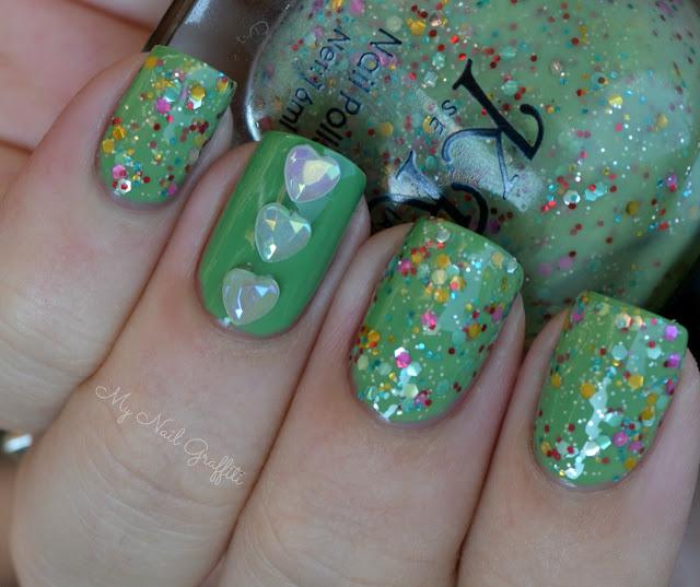Lucky Nail Supply: My Nail Graffiti: Lucky Charms Nails