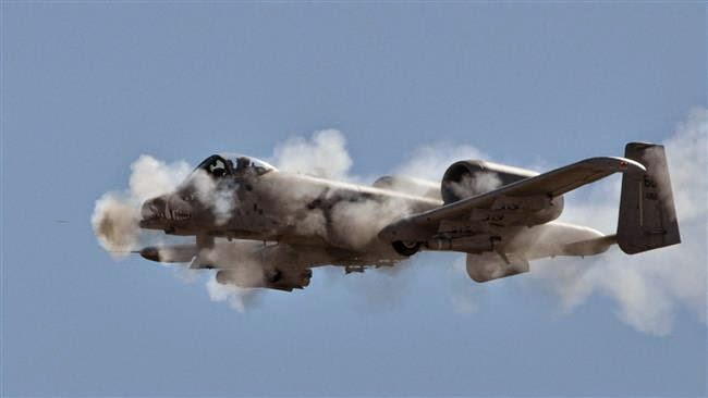 US A-10 Thunderbolt Makes Emergency Landing in Iraq