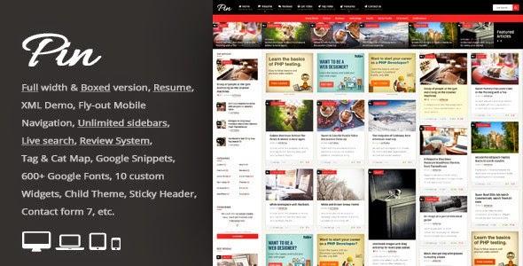 Best New Premium WordPress Template