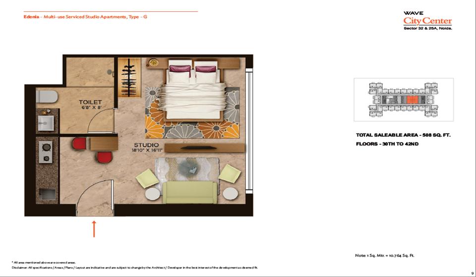 Wave Edenia Floor Plans 3