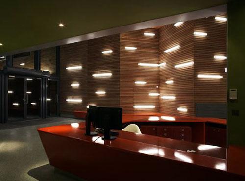 Lobby Interior Lighting Fixtures Design