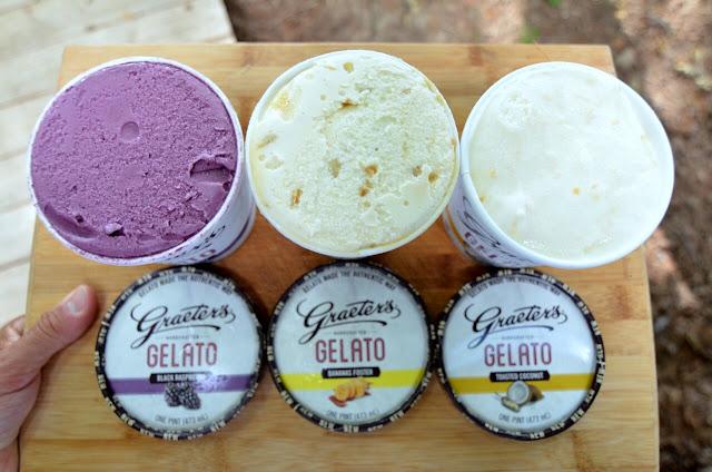 ... Foster Gelato, Black Raspberry Gelato, and Toasted Coconut Gelato