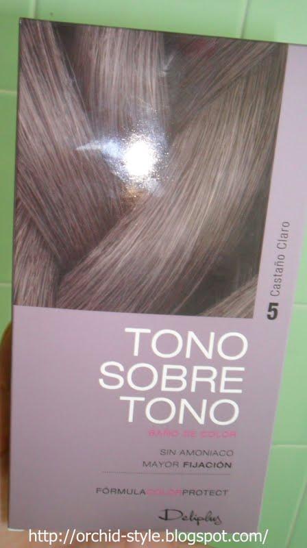 Orchid style tono sobre tono deliplus for Bano de color mercadona