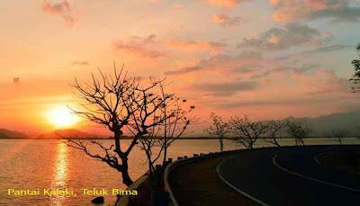 Sunset Pantai Kalaki, Teluk Bima