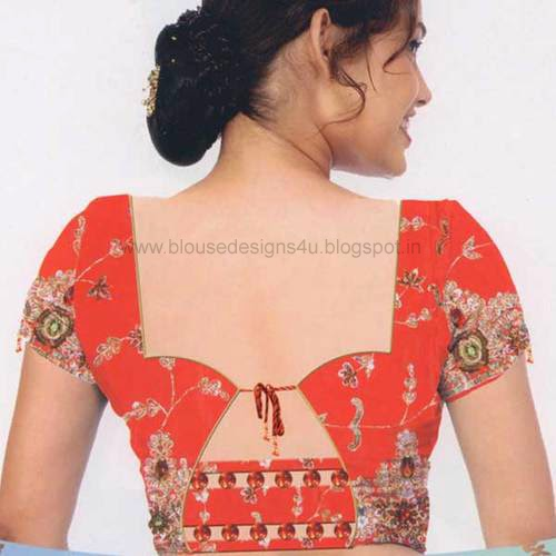 Ladies Blouse Neck Design 4