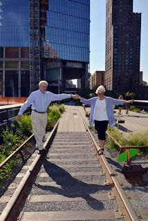 Newly Opened portion of High Line at 31st Street