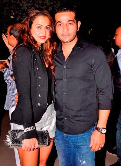 Malaika Arora Khan and Arbaaz Khan at the launch of Aqaba Restaurant