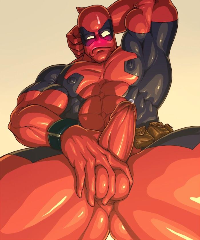 Deadpool gay porn
