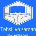 Təhsil və Zaman.