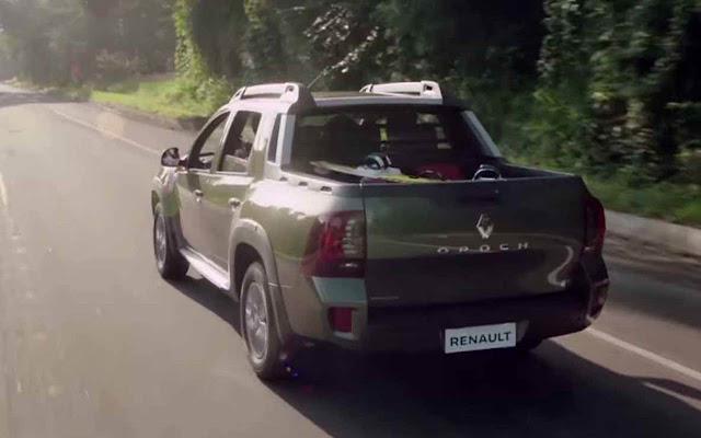 Novo Renault Duster picape Oroch