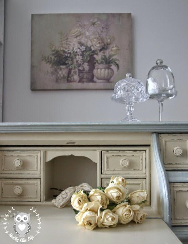 Shabbychiclife come trasformare i mobili con la tecnica - Dipingere mobili cucina vecchia ...