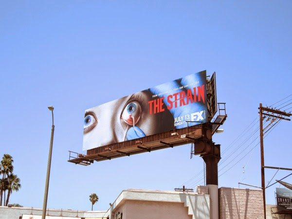 The Strain FX billboard