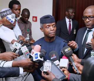 I can't tell if heads will roll- Vice President, Yemi Osinbajo speaks on SGF/NIA probe
