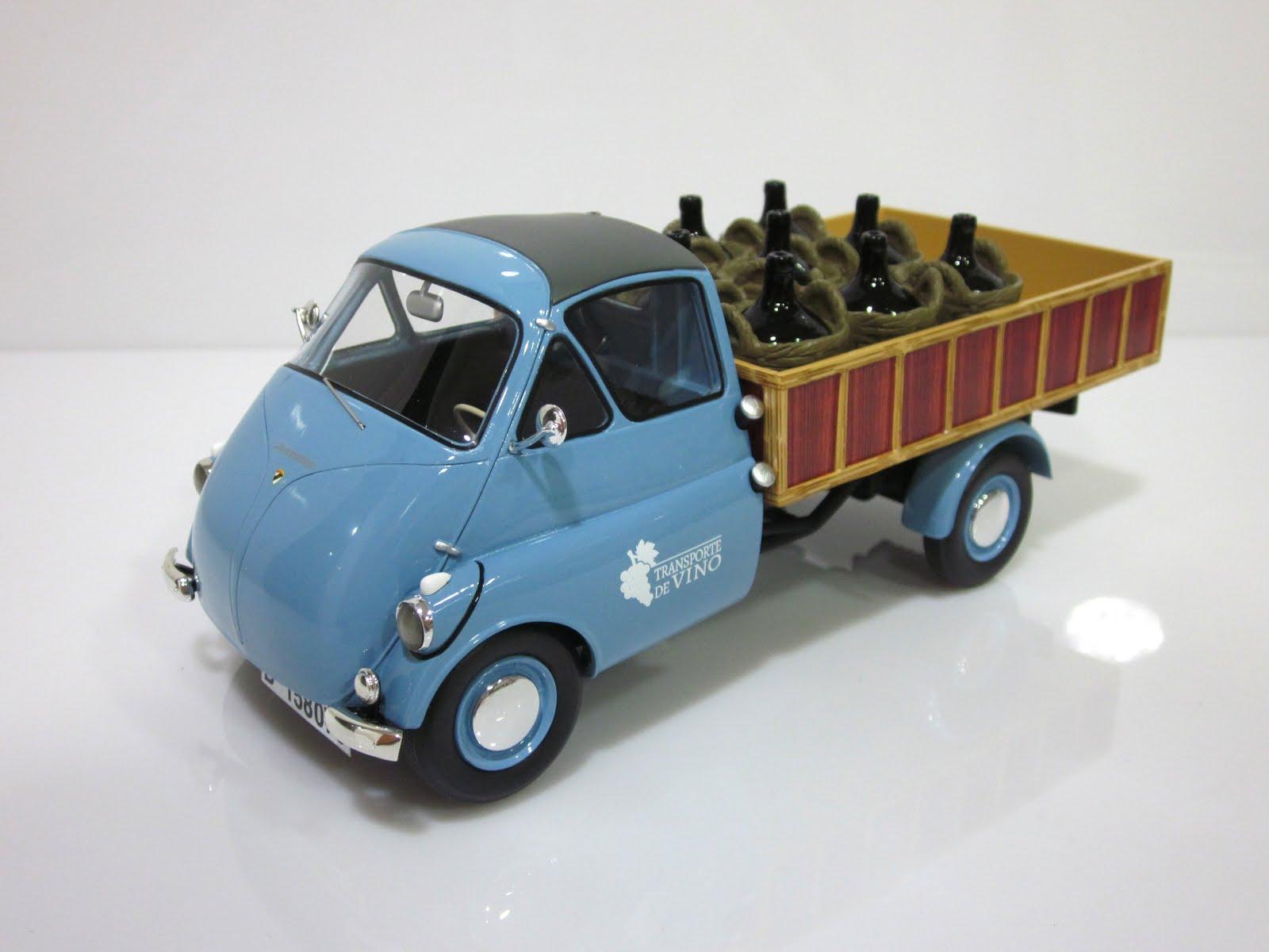 "ISO Rivolta Isocarro - Isettacarro ""Transporte de vino"" 1957 - Schuco"