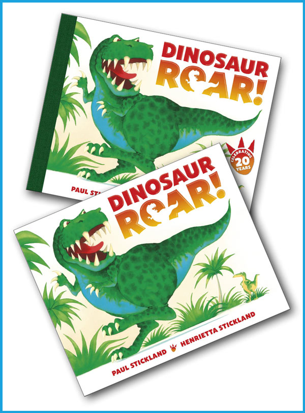 buy dinosaur roar, dinosaur roar, paul stickland, henrietta stickland, dinosaurs, dinosaurs for kids,